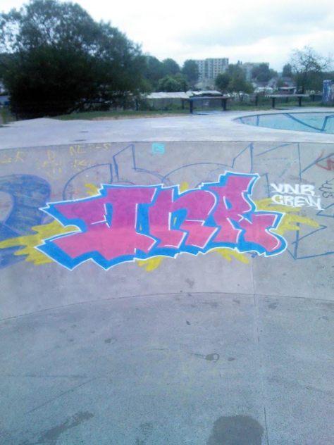 VNR crew - belfort - 2015 graffiti