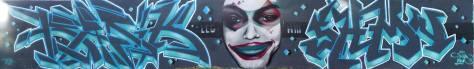basik shaman montferand graffiti