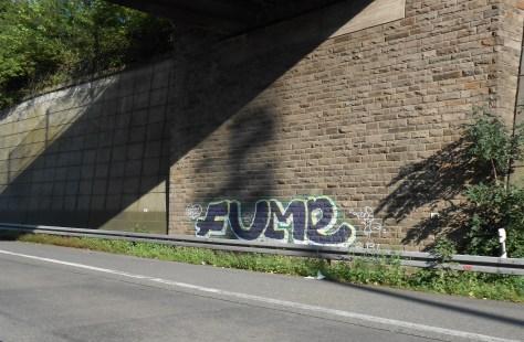 FUME - graffiti - allemagne 2015
