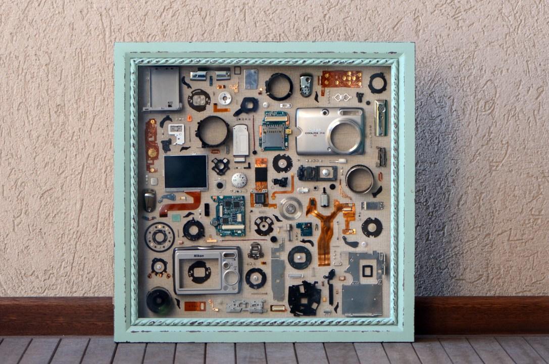 """Nikon Coolpix P4 Silver 12x12"""" - $250"""