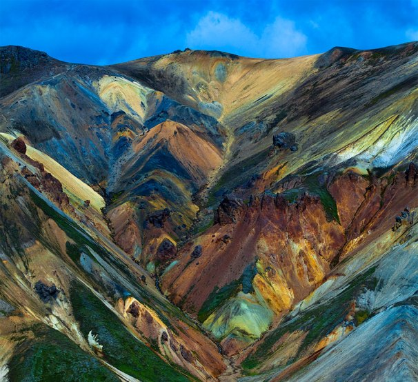 Colors of Landmannalaugar, Iceland