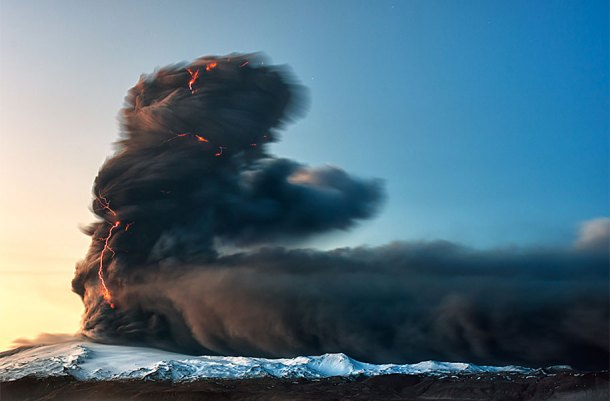 Eruption of Eyjafjallajökul, Iceland