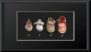 Baby Shoes Growth Chart