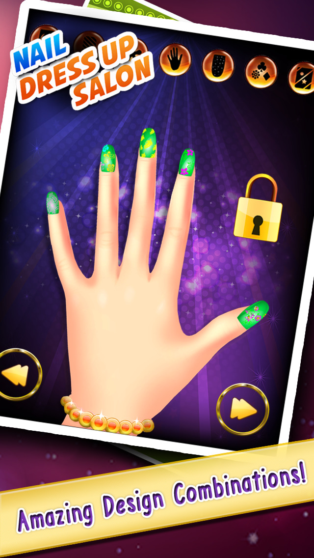 Nail Art Manicure Design Beauty Salon Studio Free Games