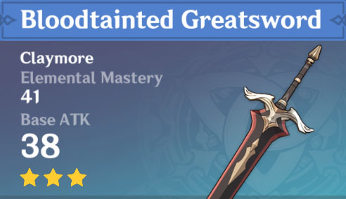 Bloodtainted Greatsword