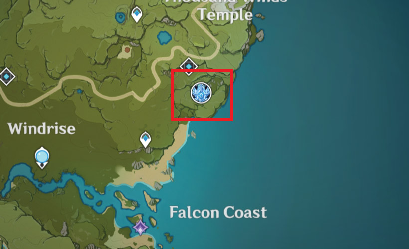 Cryo Regisvine Location