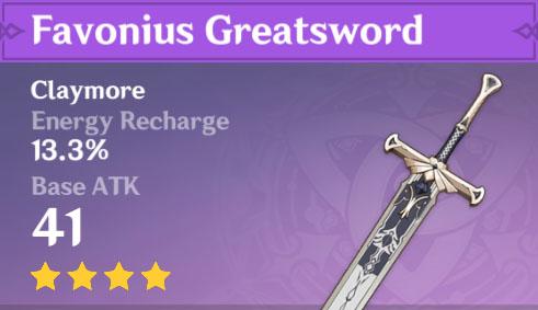 Favonius Greatsword