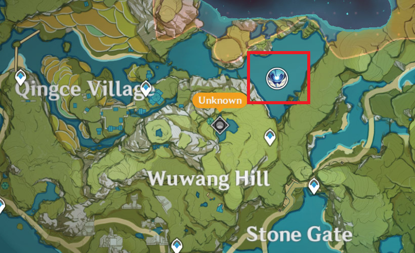 Oceanid Locations