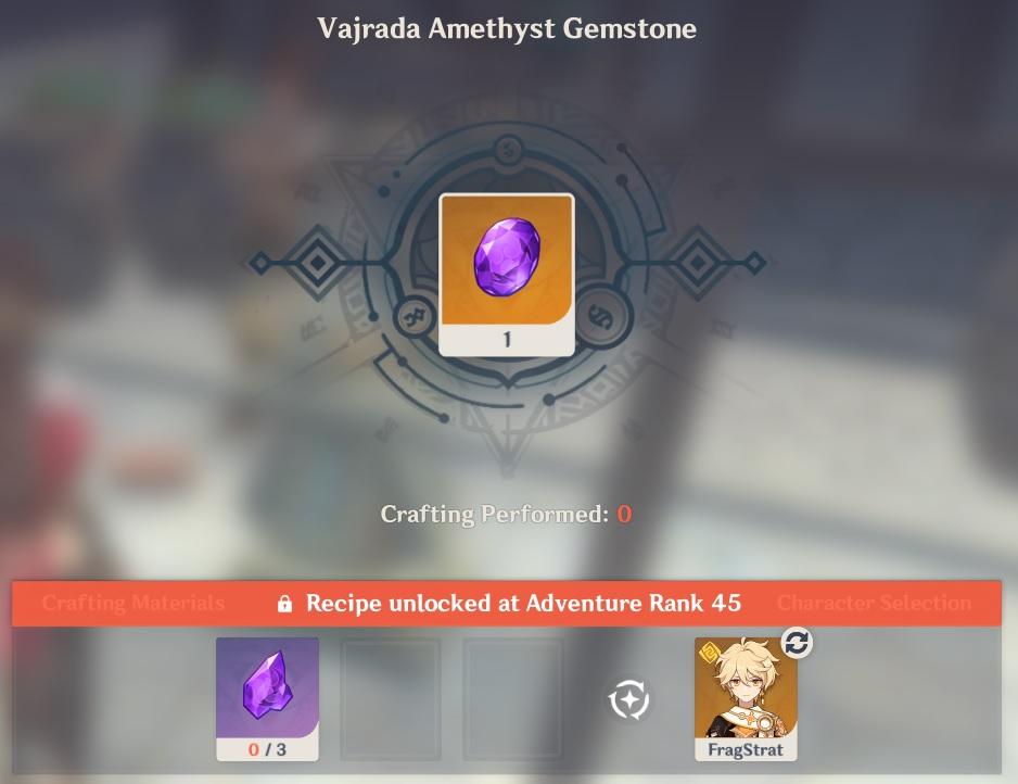 Vajrada Amethyst Gemstone Crafting