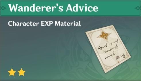 Wanderer's Advice