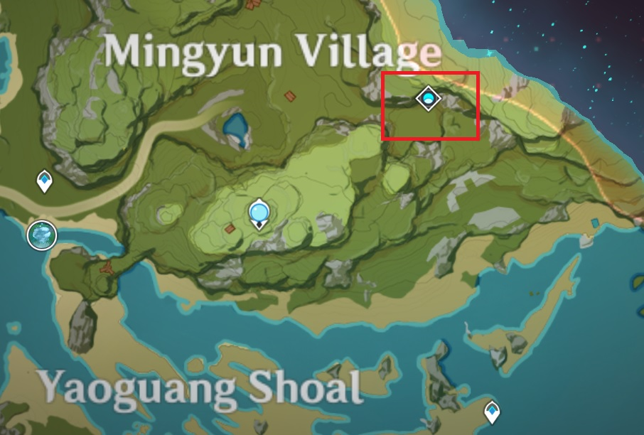 Hidden Palace of Lianshan Formula Location