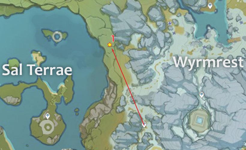 Sal Terrae Geovishap Locations