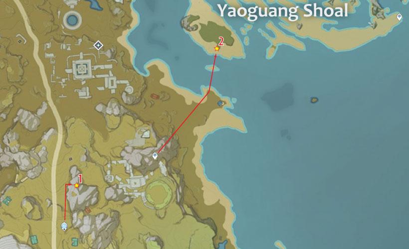 guili plains cor lapis location