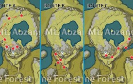White Iron Chunk Locations And Farming Route In Genshin Impact
