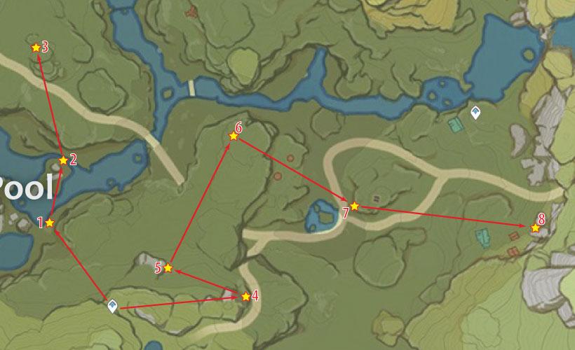qingxu pool cor lapis location
