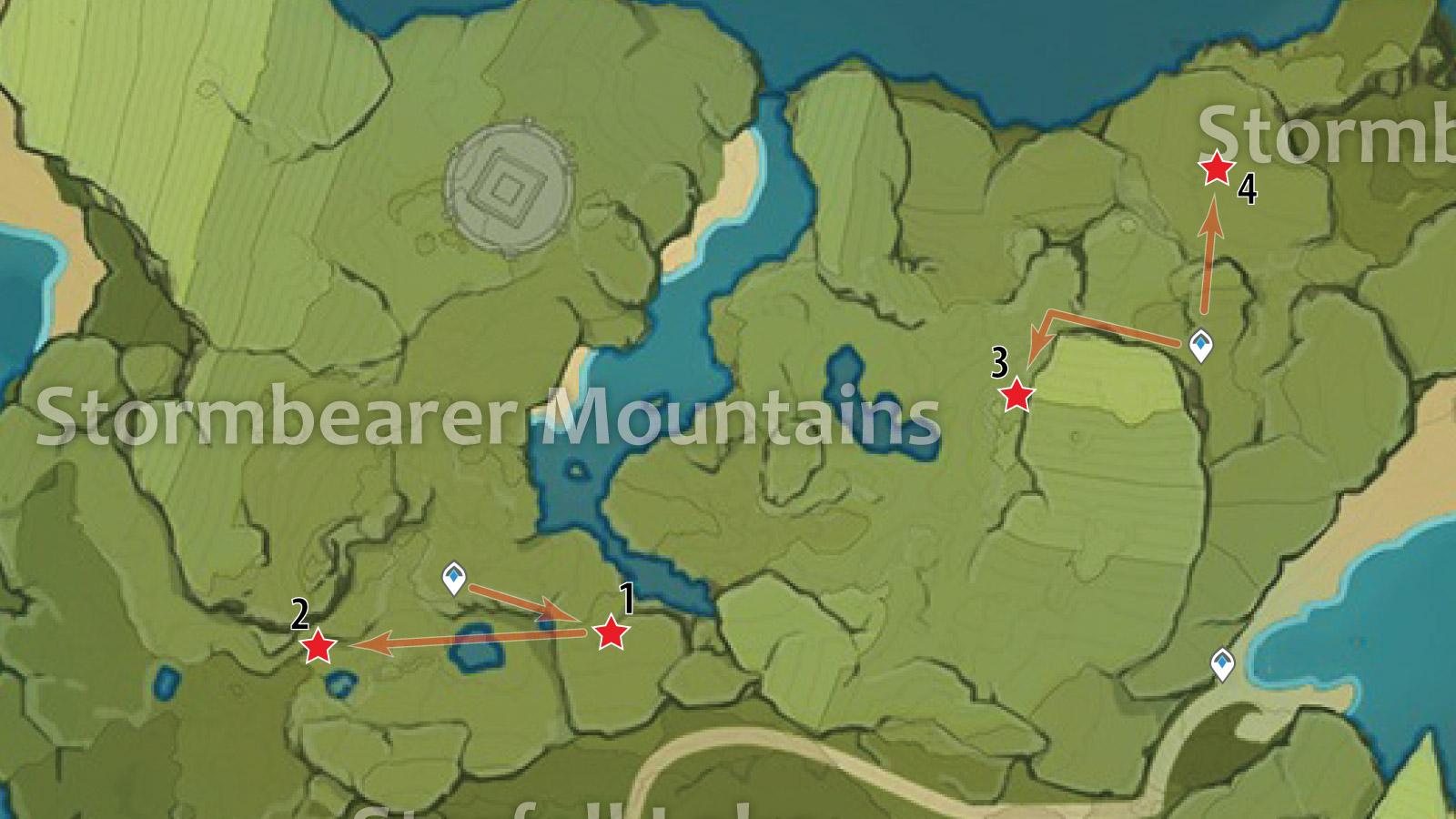 Stormbearer Crystal Chunk Farming Route