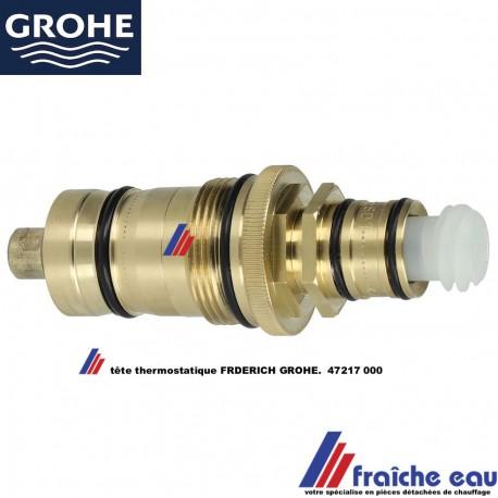 insert de robinet thermostatique bain et douche frederich grohe 47217 000 cartouche a cire pour la regulation de temperature