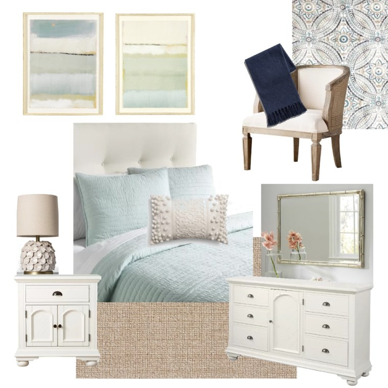 Seaside Edesign Guest Room