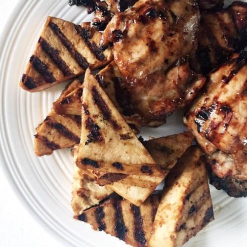 Asian Sesame Hoisin Chicken or Tofu