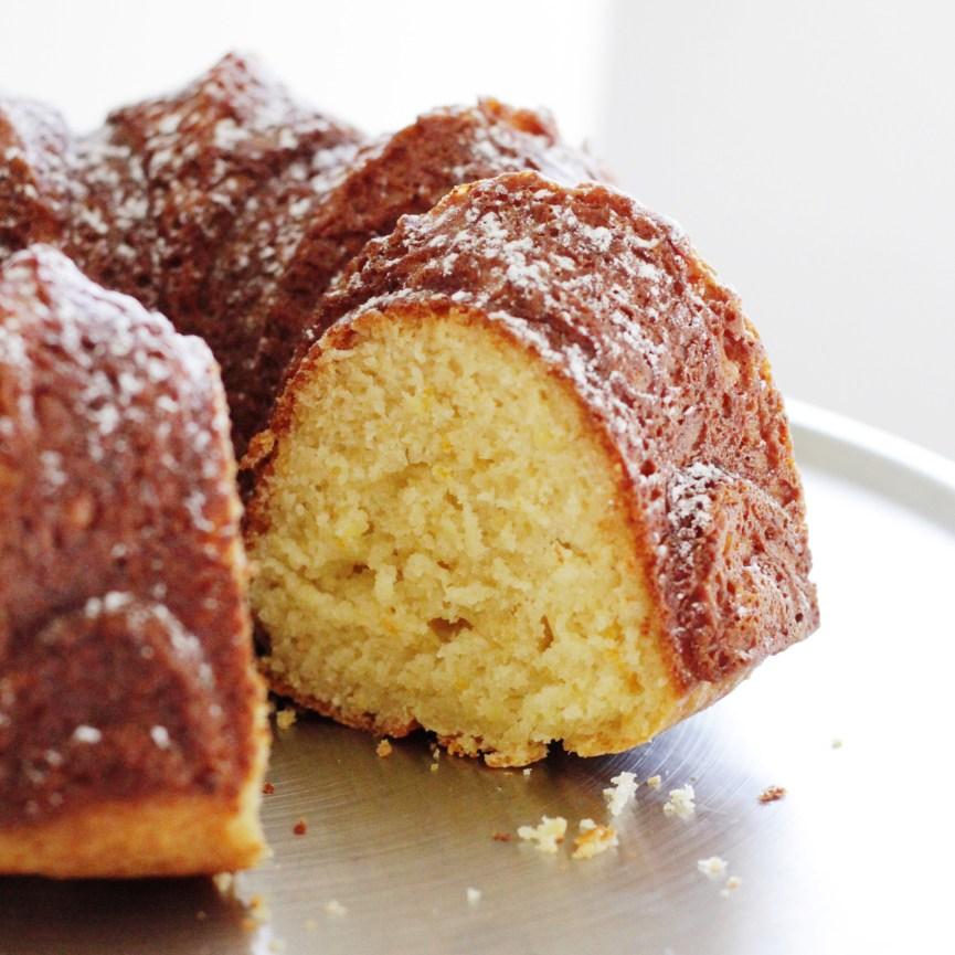 Sicilian Citrus Ricotta Bundt Cake