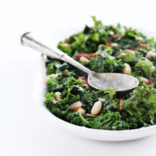 Sautéed Kale & White Beans