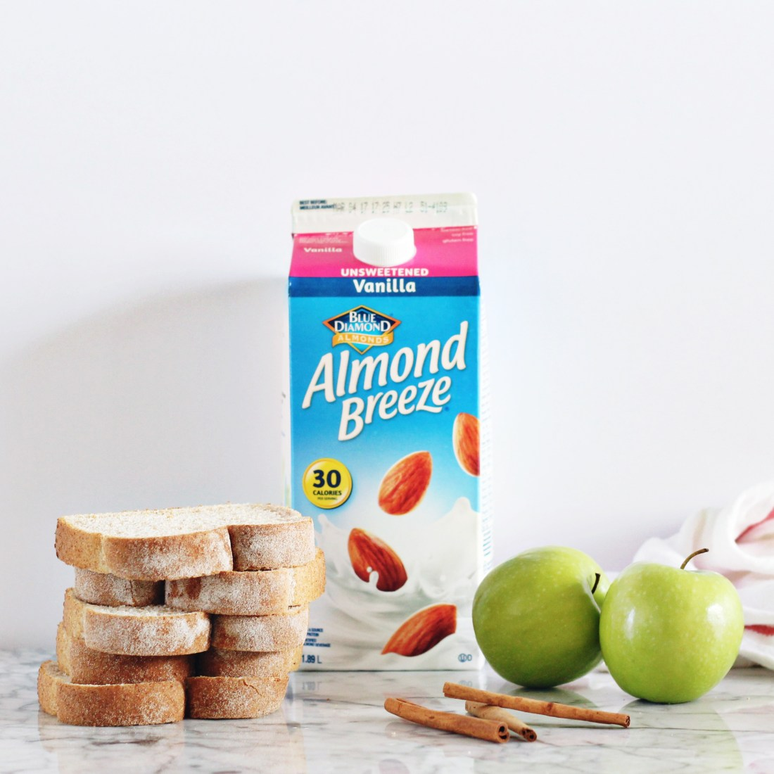 Apple Cinnamon French Toast Bake ingredients