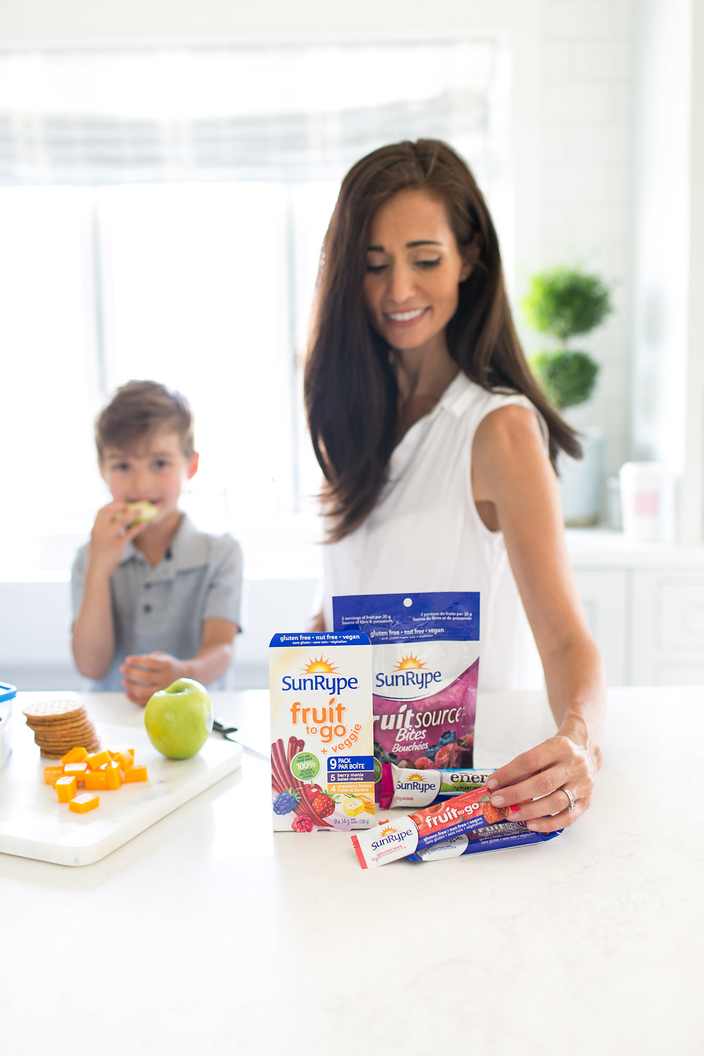 Back to school snack ideas from Registered Dietician Tori Wesszer