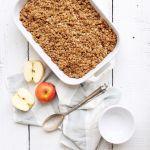 Gluten Free and Vegan No-Fail Apple Crisp