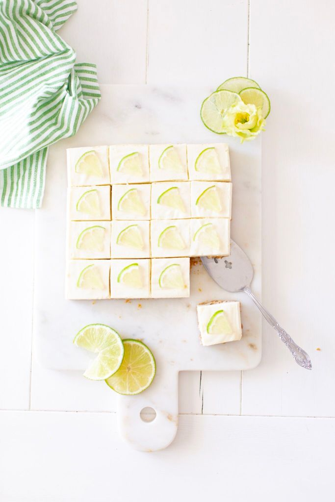Tequila Lime Cheesecake Bites made with a combination of Greek yogurt and cream cheese for a lighter no-bake version of a traditional cheesecake.