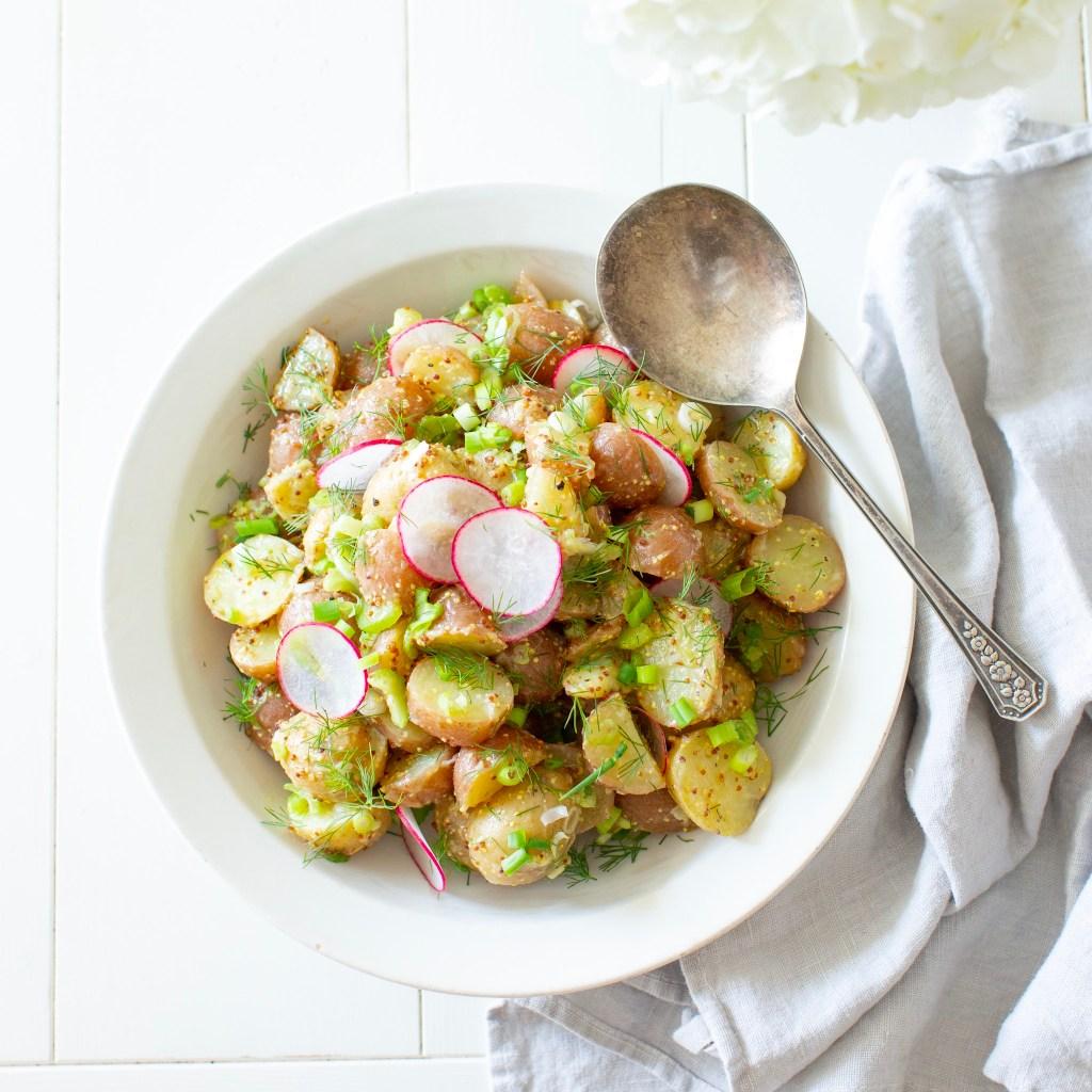 French Style Vinaigrette Potato Salad