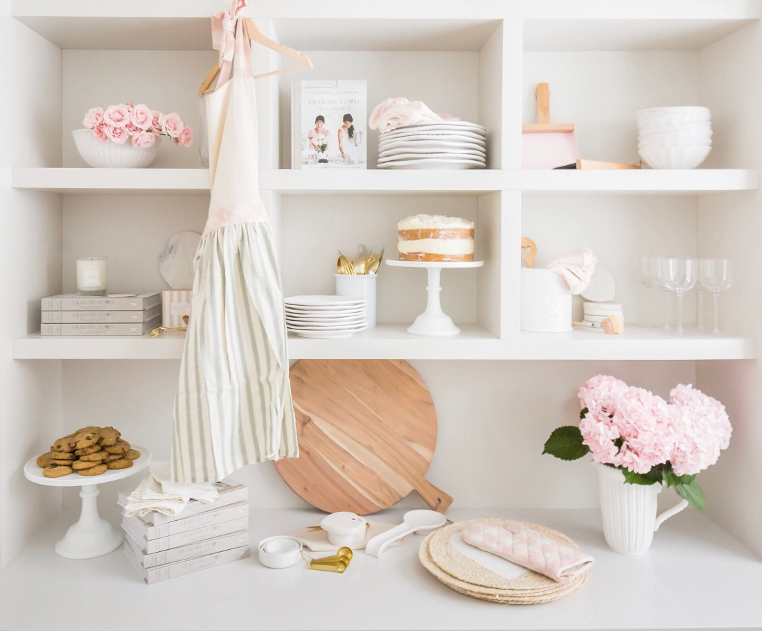 Beautiful Kitchen and Tableware from Tori Wesszer + Jillian Harris's Fraîche Kitchen Collection with the Cross. This stunning seasonal decor makes a perfect gift for the holidays!