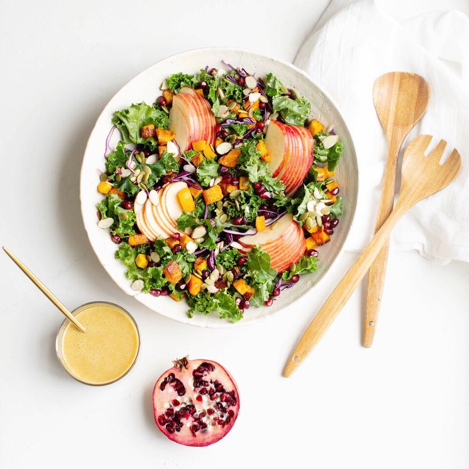 Confetti Kale Salad
