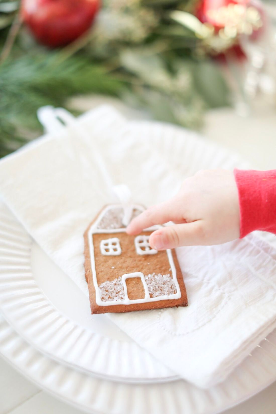 Gingerbread Cut outs for Christmas ornaments or place settings