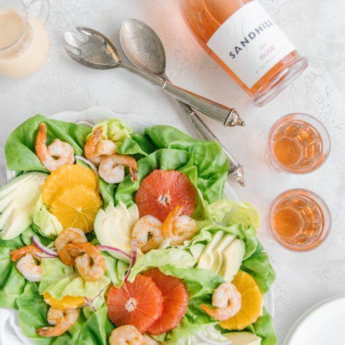 Avocado Shrimp Citrus Salad