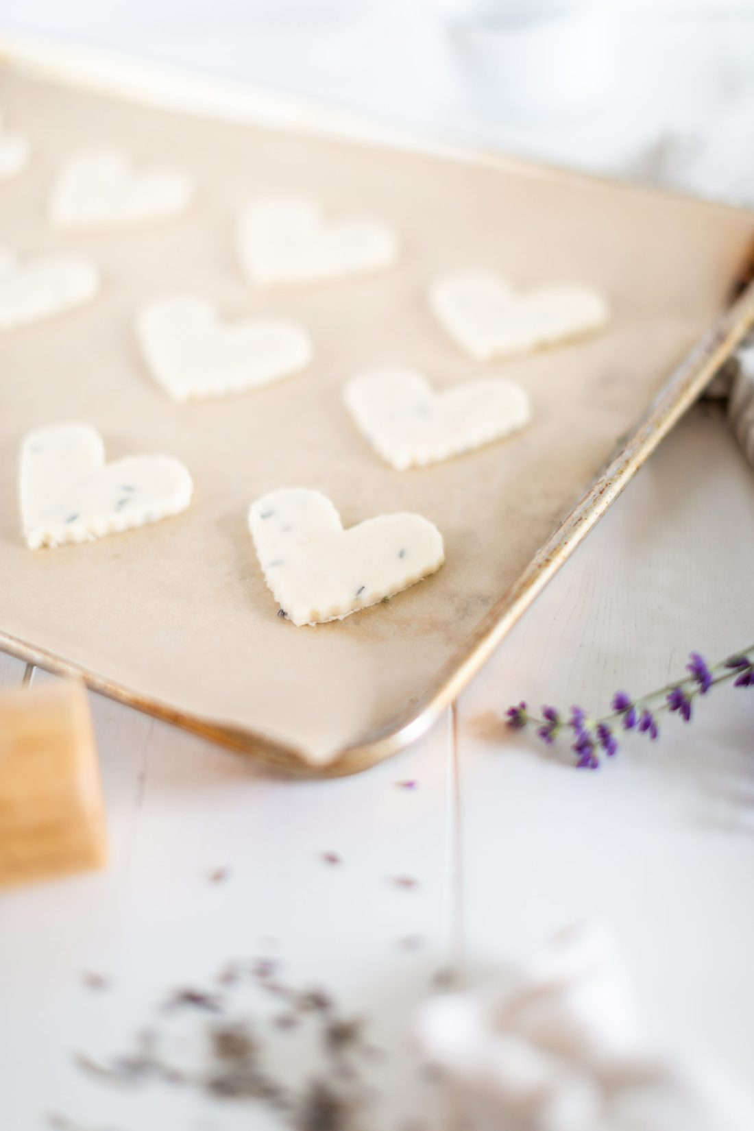 Easy Lavender Shortbread Cookie Recipe
