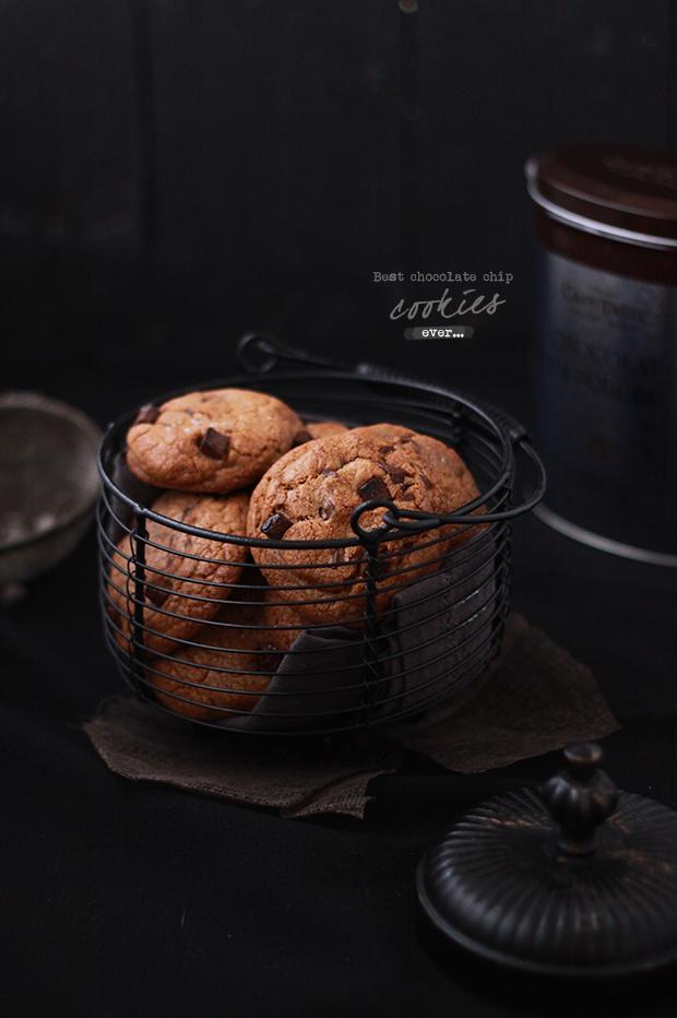 Cookies tout chocolat | Fraise & Basilic