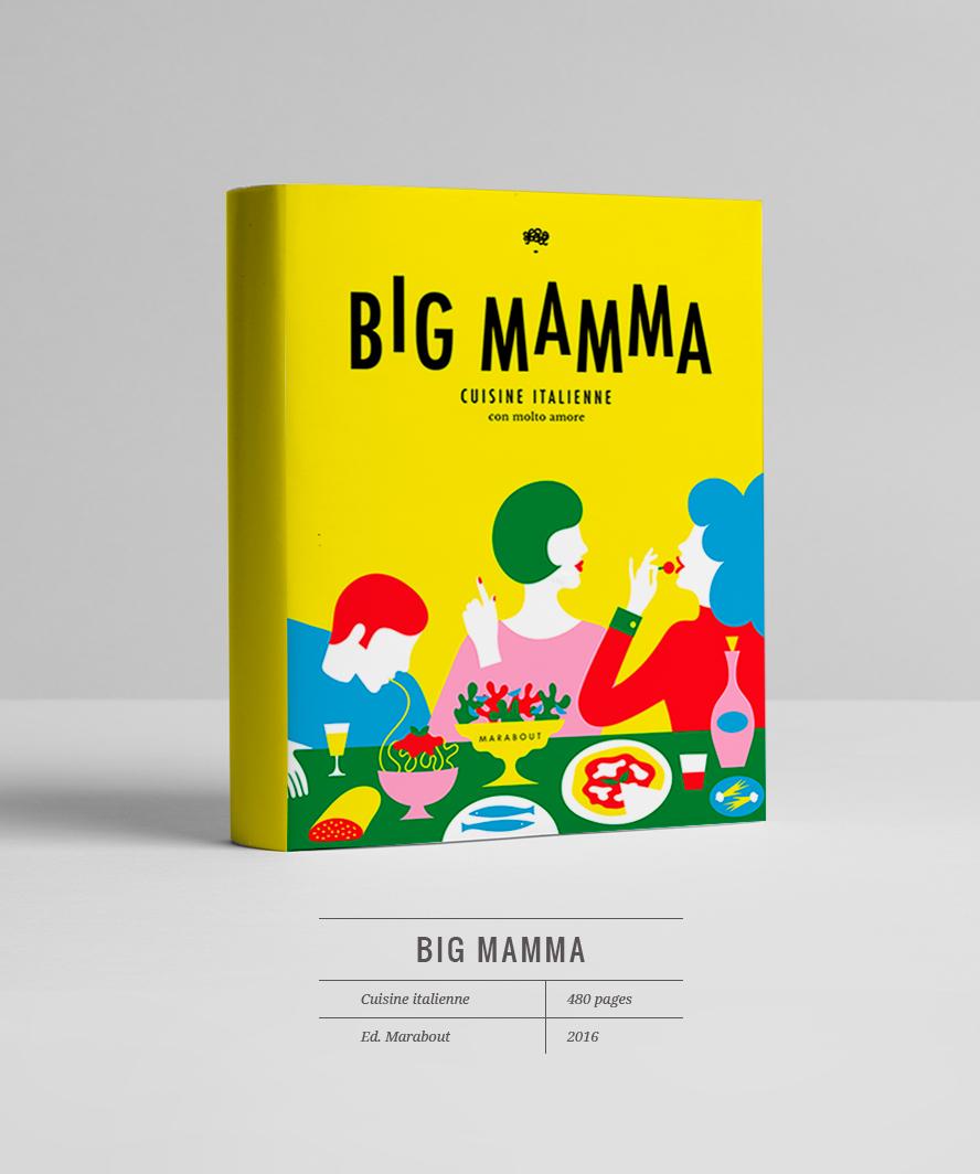Big Mamma Le livre ©Fraise & Basilic