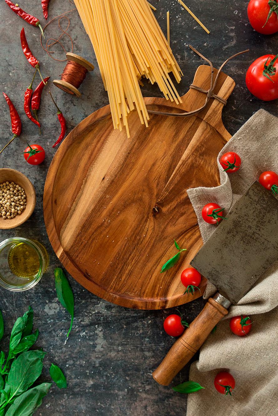 Polpettes épicées aux amandes, spaghettis ©Fraise & Basilic
