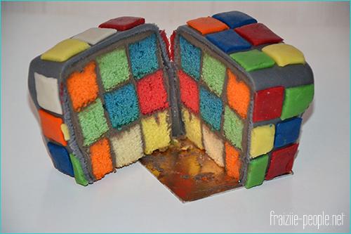 [Recette] Gâteau Rubik's Cube (1/6)