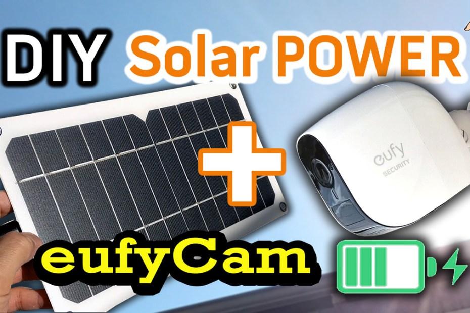 Blog_Tech_1st eufy Cam Solar Power DIY Install - Infinity Battery Life DIY Solar Wire Free Security Cameras