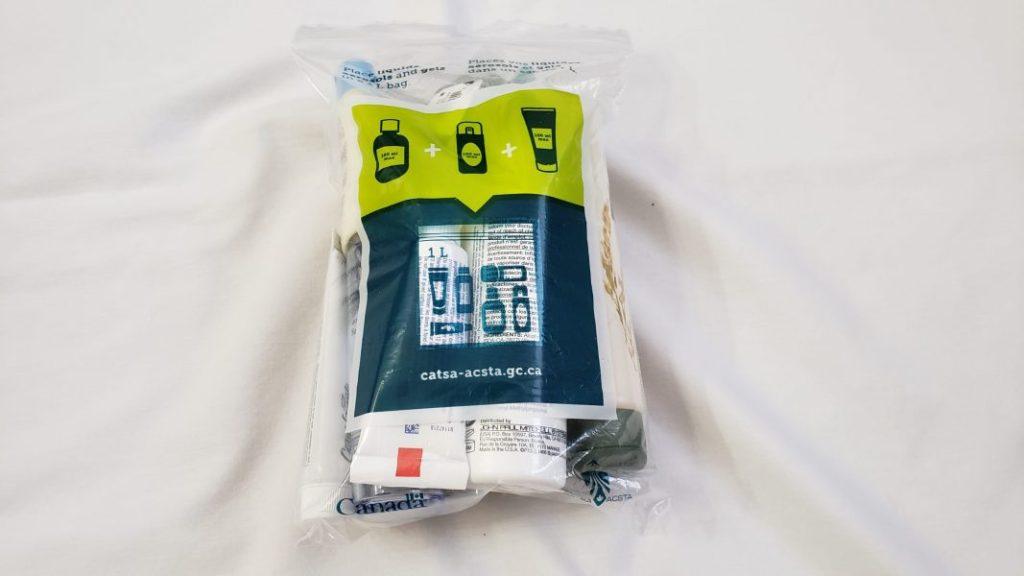 CATSA bag