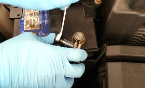Removing negative (Black) wire from 12V car battery