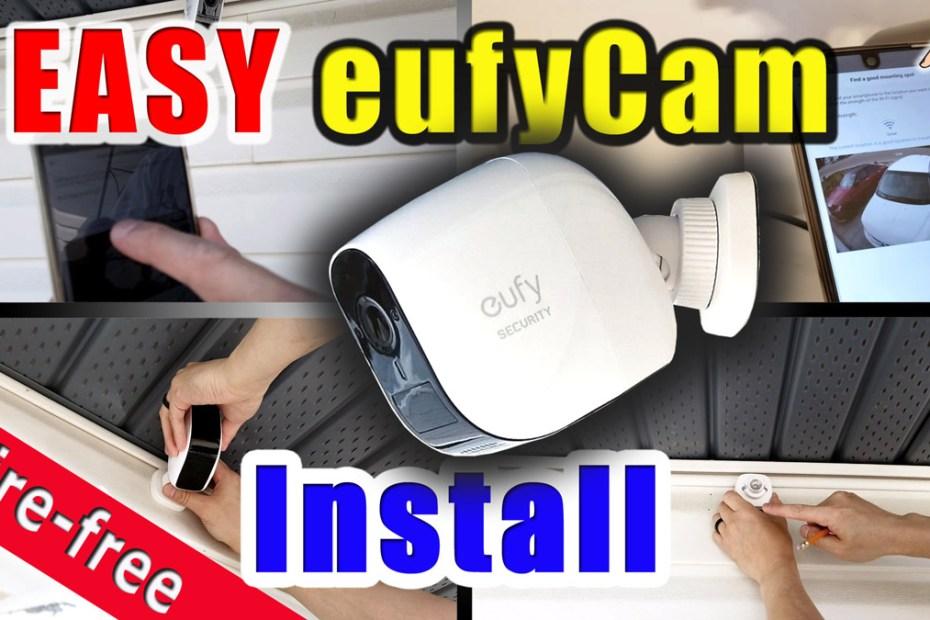 Blog_Tech_How to install a Wire free smart home security camera system, eufy Cam E installation guide DIY
