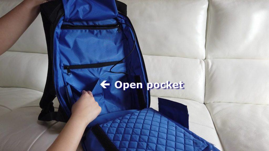 Open pocket