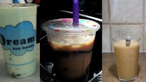 Popular Boba Tea (including store bought bubble milk tea)