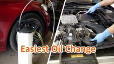 How to Change Engine Oil Fast – DIY Super Easy, Quick Oil Change using a Fluid Evacuator