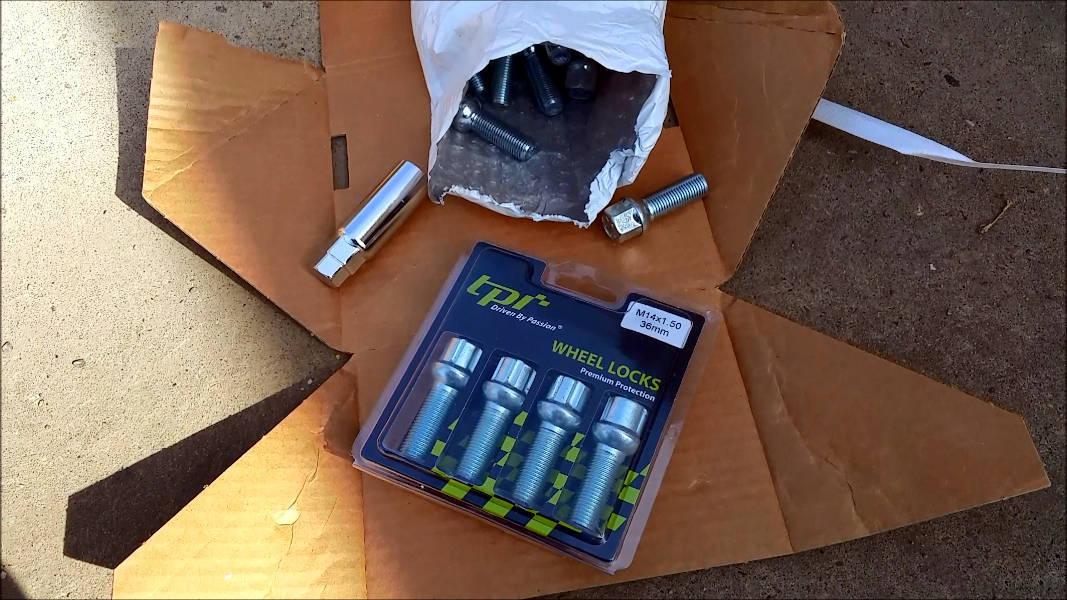 Set of 4 TPi Wheel Lock bolts
