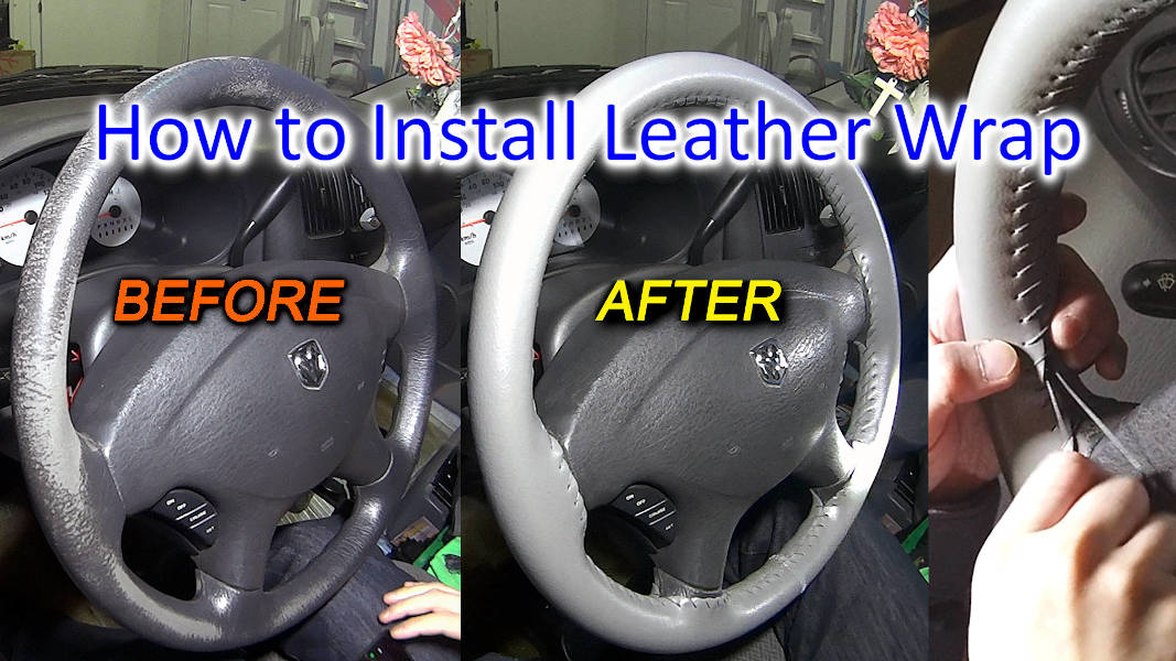 Blog_Cars_How to install a Steering Wheel Cover – Stitch a Steering Wheel Wrap to restore like New