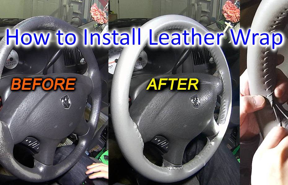 Blog_Cars_How to install a Steering Wheel Cover - Stitch a Steering Wheel Wrap to restore like New