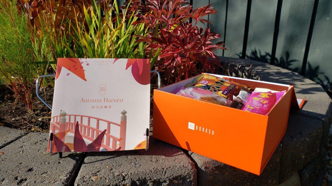 Bokksu 2 – Autumn Harvest box and guide